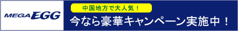 【中国地方限定!メガ・エッグ】新規回線開通プログラム★